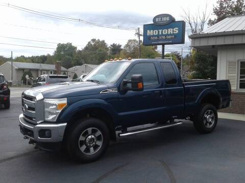 2011 Ford F-350 Super Duty for sale at Route 106 Motors in East Bridgewater MA