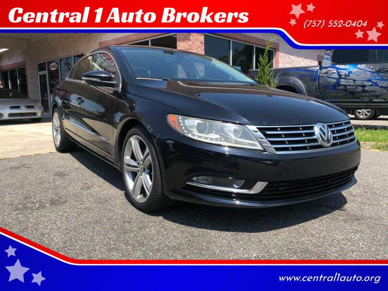 2013 Volkswagen CC for sale at Central 1 Auto Brokers in Virginia Beach VA
