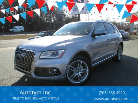 2017 Audi Q5 for sale at AUTOTYM INC in Fredericksburg VA