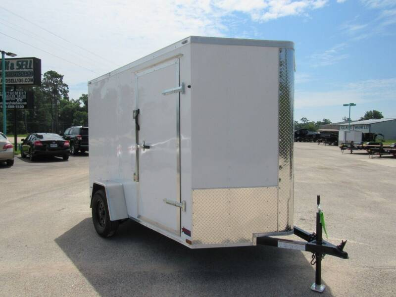 2021 Big Chief 6' X 10' Extra Height for sale at Montgomery Trailer Sales - Big Chief in Conroe TX