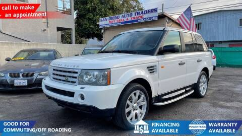 2008 Land Rover Range Rover Sport for sale at San Diego Auto Traders in San Diego CA