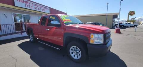 2013 Chevrolet Silverado 1500 for sale at Henry's Autosales, LLC in Reno NV