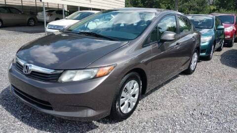 2012 Honda Civic for sale at IDEAL IMPORTS WEST in Rock Hill SC
