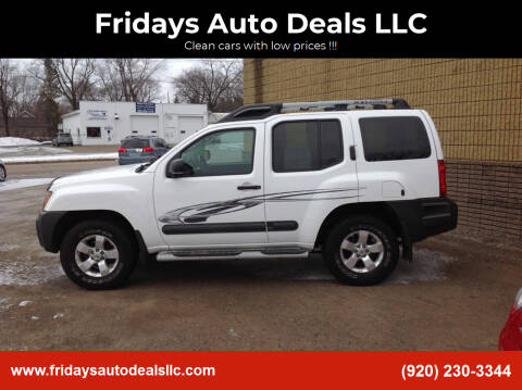 2010 Nissan Xterra for sale at Fridays Auto Deals LLC in Oshkosh WI