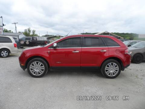 2010 Lincoln MKX for sale at Town and Country Motors in Warsaw MO