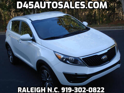 2016 Kia Sportage for sale at D45 Auto Brokers in Raleigh NC