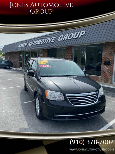 2014 Chrysler Town and Country for sale at Jones Automotive Group in Jacksonville NC