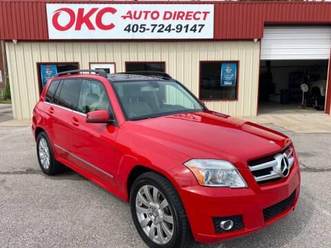 2011 Mercedes-Benz GLK for sale at OKC Auto Direct, LLC in Oklahoma City OK