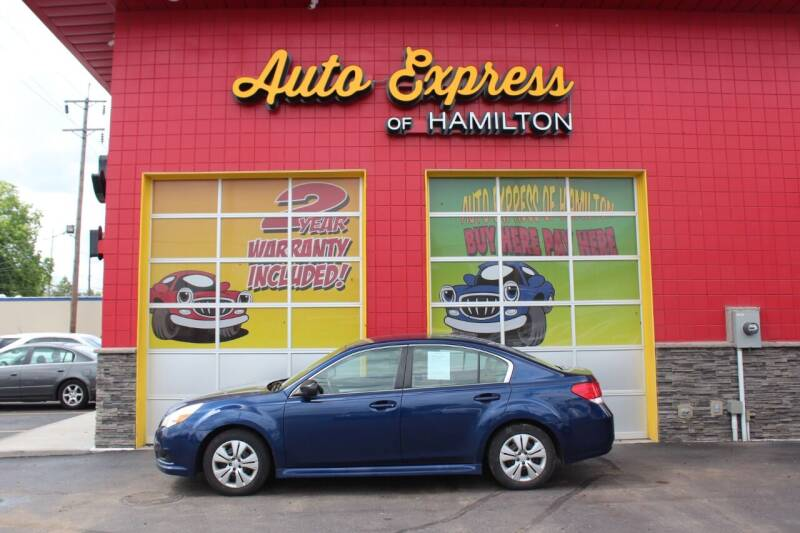 2010 Subaru Legacy for sale at AUTO EXPRESS OF HAMILTON LLC in Hamilton OH