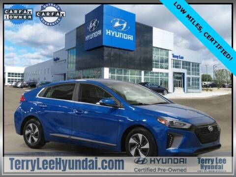 2018 Hyundai Ioniq Hybrid for sale at Terry Lee Hyundai in Noblesville IN