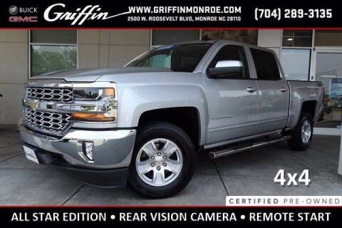2018 Chevrolet Silverado 1500 for sale at Griffin Buick GMC in Monroe NC