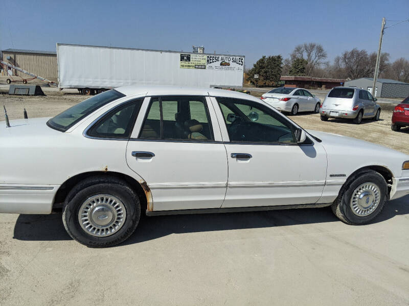 1995 Ford Crown Victoria for sale at Reese Auto Sales in Pocahontas IA