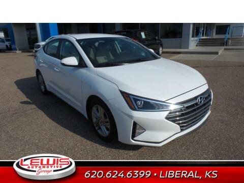 2019 Hyundai Elantra for sale at Lewis Chevrolet Buick Cadillac of Liberal in Liberal KS