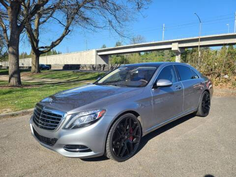 2014 Mercedes-Benz S-Class for sale at EXECUTIVE AUTOSPORT in Portland OR