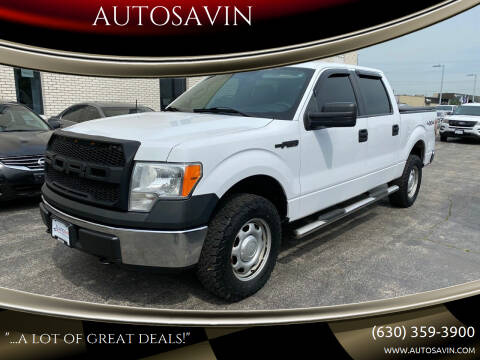2014 Ford F-150 for sale at AUTOSAVIN in Elmhurst IL