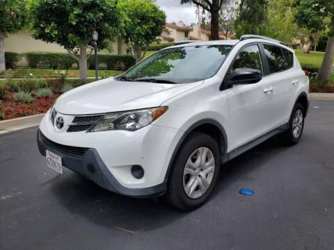 2013 Toyota RAV4 for sale at E MOTORCARS in Fullerton CA