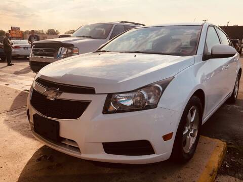 2014 Chevrolet Cruze for sale at Daniel Auto Sales inc in Clinton Township MI