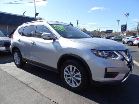 2018 Nissan Rogue for sale at Sandy Motors Inc in Coventry RI