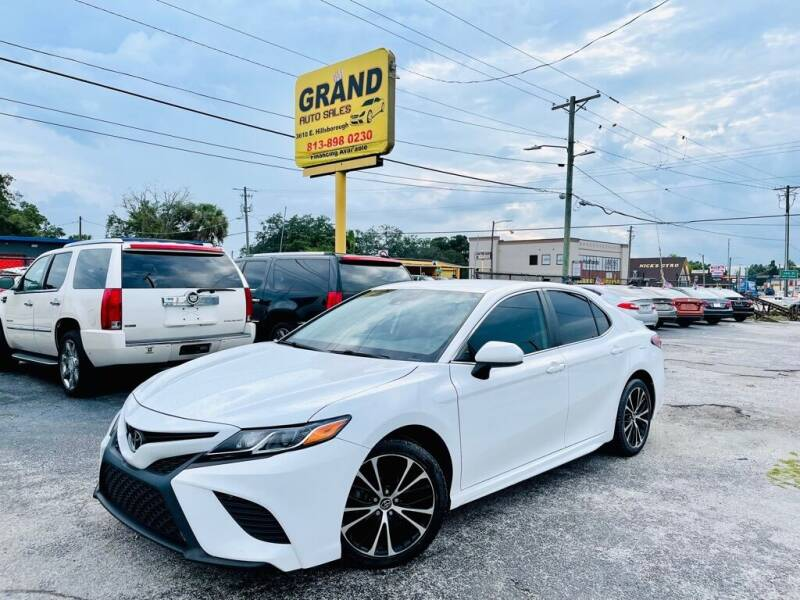 2019 Toyota Camry for sale at Grand Auto Sales in Tampa FL