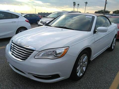 2013 Chrysler 200 Convertible for sale at KAYALAR MOTORS in Houston TX