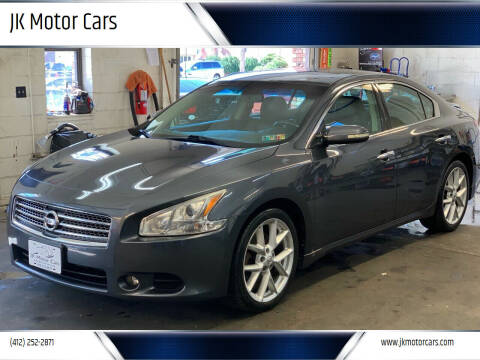2009 Nissan Maxima for sale at JK Motor Cars in Pittsburgh PA