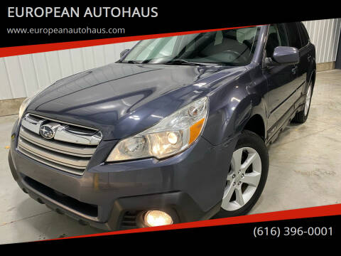 2014 Subaru Outback for sale at EUROPEAN AUTOHAUS in Holland MI