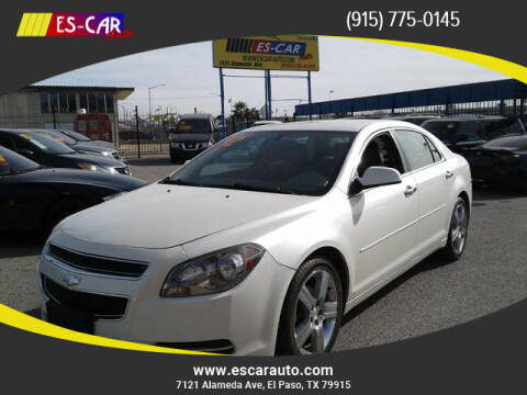 2012 Chevrolet Malibu for sale at Escar Auto in El Paso TX