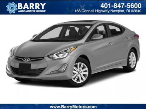 2014 Hyundai Elantra for sale at BARRYS Auto Group Inc in Newport RI