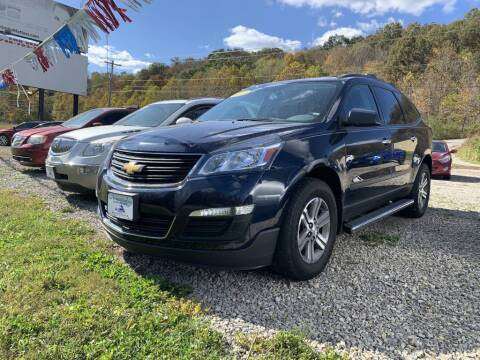 2017 Chevrolet Traverse for sale at Court House Cars, LLC in Chillicothe OH