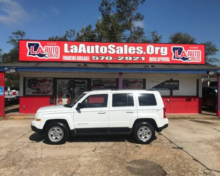 2015 Jeep Patriot for sale at LA Auto Sales in Monroe LA