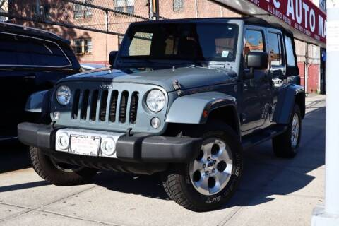 2014 Jeep Wrangler Unlimited for sale at HILLSIDE AUTO MALL INC in Jamaica NY
