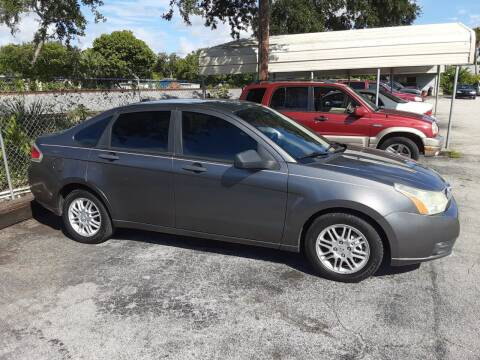2010 Ford Focus for sale at Easy Credit Auto Sales in Cocoa FL
