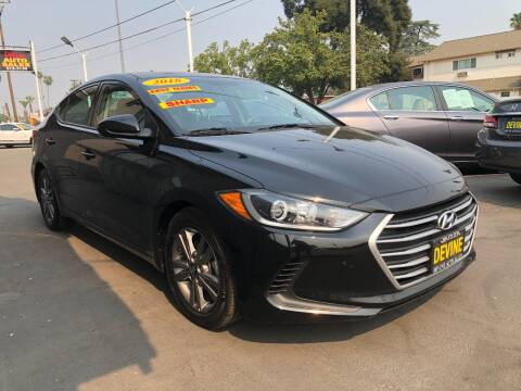 2018 Hyundai Elantra for sale at Devine Auto Sales in Modesto CA