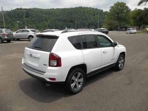 2017 Jeep Compass for sale at MINK MOTOR SALES INC in Galax VA