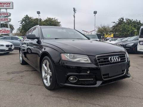 2010 Audi A4 for sale at Convoy Motors LLC in National City CA