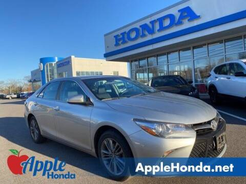 2016 Toyota Camry for sale at APPLE HONDA in Riverhead NY