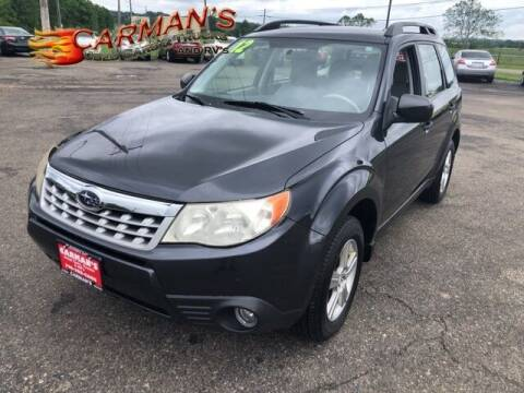 2012 Subaru Forester for sale at Carmans Used Cars & Trucks in Jackson OH