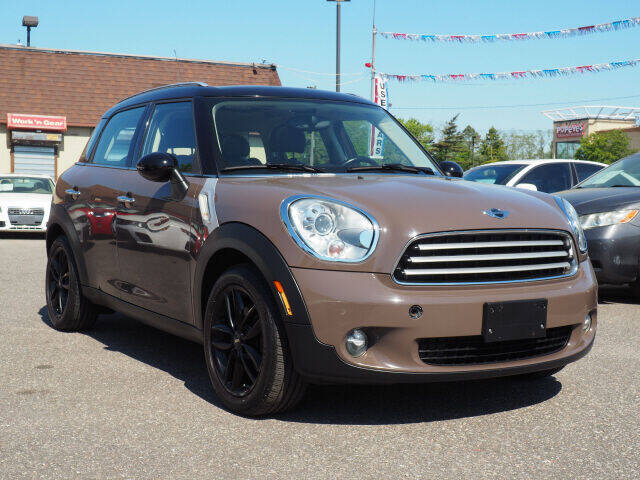 2011 MINI Cooper Countryman for sale at Sunrise Used Cars INC in Lindenhurst NY