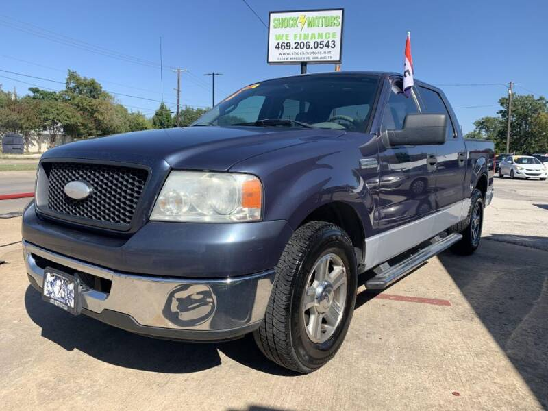 2006 Ford F-150 for sale at Shock Motors in Garland TX