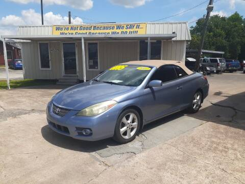 2007 Toyota Camry Solara for sale at Taylor Trading Co in Beaumont TX