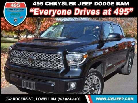2019 Toyota Tundra for sale at 495 Chrysler Jeep Dodge Ram in Lowell MA