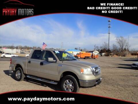 2008 Ford F-150 for sale at Payday Motors in Wichita And Topeka KS