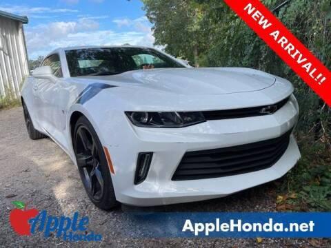 2018 Chevrolet Camaro for sale at APPLE HONDA in Riverhead NY