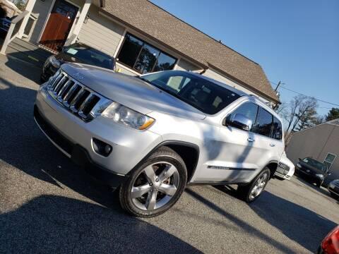 2012 Jeep Grand Cherokee for sale at M & A Motors LLC in Marietta GA