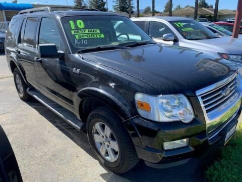 2010 Ford Explorer for sale at Contra Costa Auto Sales in Oakley CA