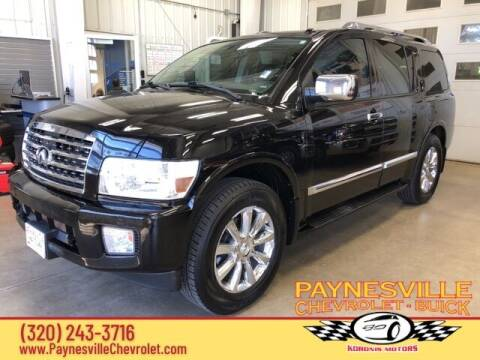 2010 Infiniti QX56 for sale at Paynesville Chevrolet Buick in Paynesville MN