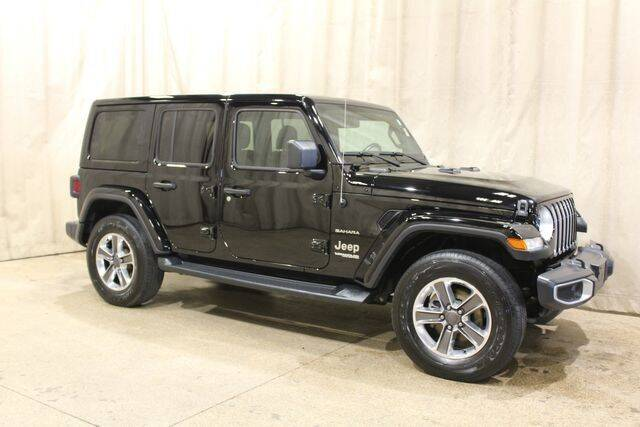 2020 Jeep Wrangler Unlimited for sale at Autoland Outlets Of Byron in Byron IL