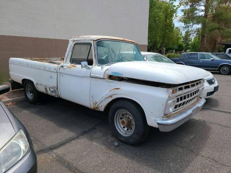 1965 Ford F-100 for sale at Arizona Auto Resource in Tempe AZ
