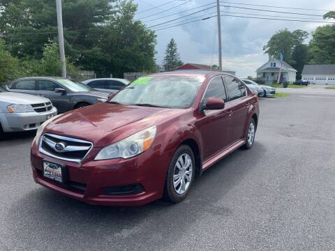 2011 Subaru Legacy for sale at Excellent Autos in Amsterdam NY
