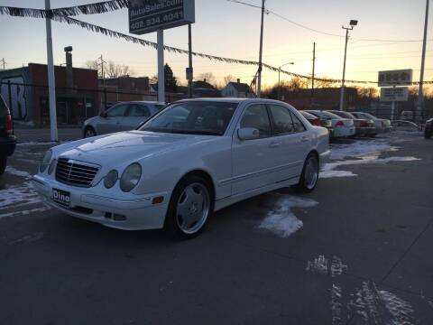 2001 Mercedes-Benz E-Class for sale at Dino Auto Sales in Omaha NE